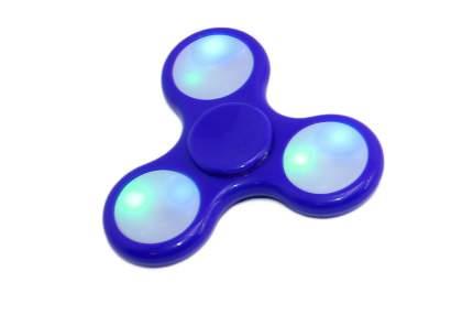 Спиннер-антистресс с LED подсветкой, синий