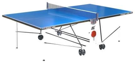Теннисный стол Start Line Compact Outdoor 2 LX синий, с сеткой