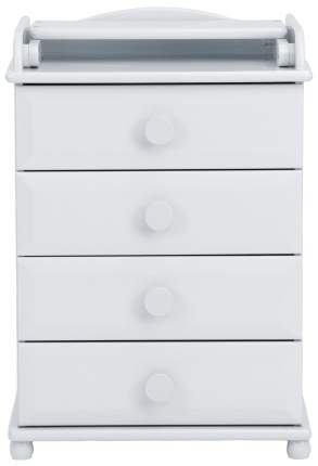 КомодЛель с пеленальным столиком БИ 03 узкий, Белый