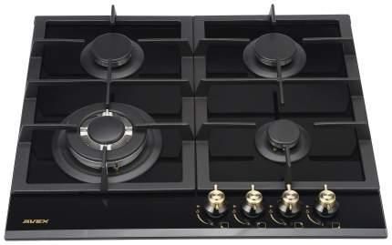 Встраиваемая варочная панель газовая AVEX HM 6044 RB Black