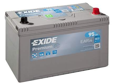 Аккумулятор автомобильный EXIDE EA954 95 Ач