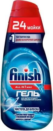 Гель для мытья посуды в посудомоечной машине Finish фll in 1 max чистота до блеска 600 мл