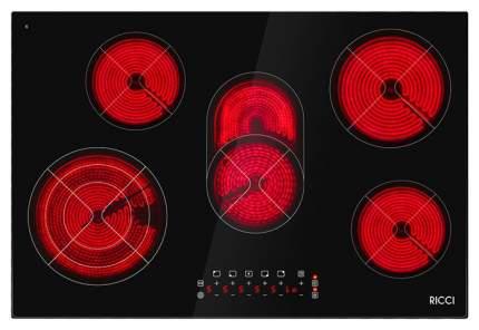 Встраиваемая варочная панель электрическая RICCI KS-T58504 Black