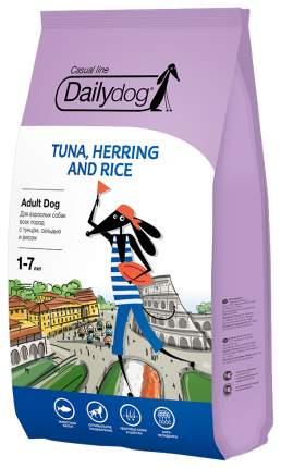 Сухой корм для собак Dailydog Casual Line Adult, тунец, сельдь и рис, 3кг