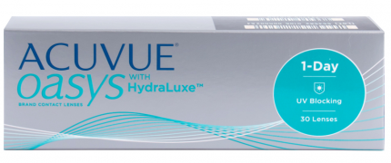 Контактные линзы Acuvue Oasys 1-Day with HydraLuxe 30 линз -2,5