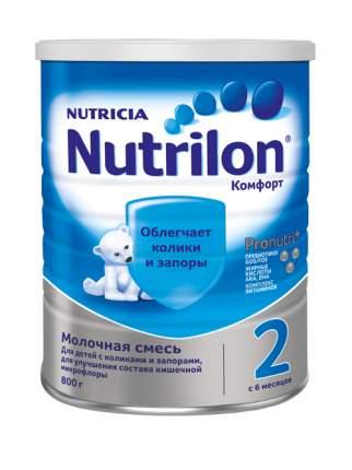 Молочная смесь Nutrilon Comfort 2 от 6 до 12 мес. 800 г