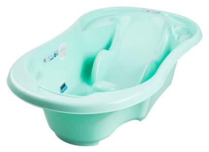 Ванна детская Tega Baby Комфорт 96 см с отливом и термометром мятный