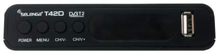 DVB-T2 приставка Selenga T42D black