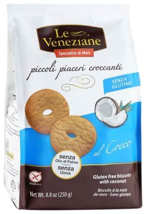 Печенье Le Veneziane с кокосом 250 г