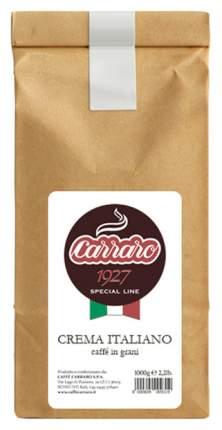 Кофе Carraro crema italiano зерновой 1 кг
