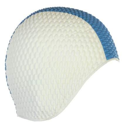 Шапочка для плавания Larsen Бабл-кап 3261 white/blue