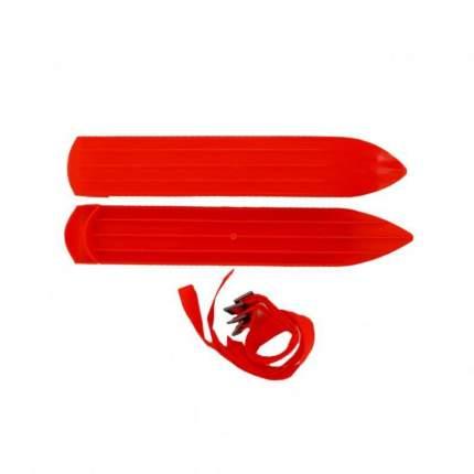 Мини-лыжи У638 39 см красный