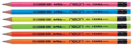 Чернографитные карандаши Neon, HB