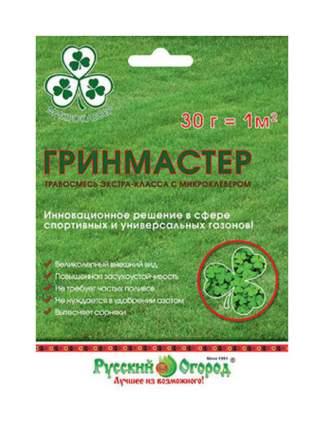 Семена Газон Гринмастер, 30 г Русский огород