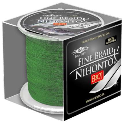Леска плетеная Mikado Nihonto Fine 0,12 мм, 300 м, 8,8 кг