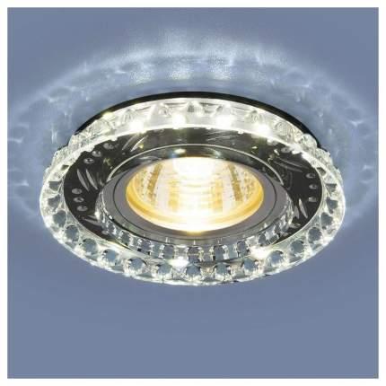 Встраиваемый точечный светильник Elektrostandard 8351 MR16 CL/BK Прозрачный/Черный a036611