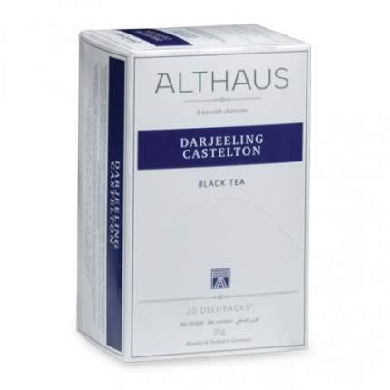 Чай черный Althaus darjeeling castelton 20 пакетиков
