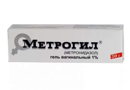 Метрогил гель вагинальный 1 % 30 г
