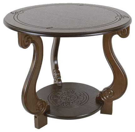Журнальный стол Мебелик 49х59х59 см, коричневый