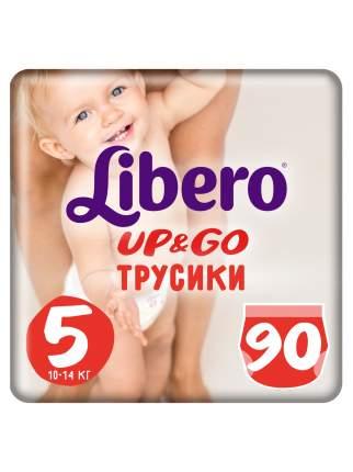Подгузники-трусики Libero UP&GO Макси+ 10-14 кг экономичная упаковка 3*30 шт.