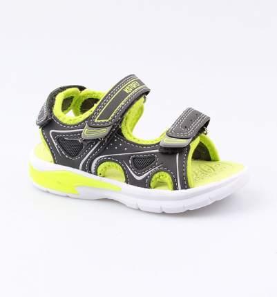 Пляжная обувь Котофей для мальчика р.25 324008-11 серый