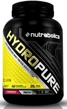 Протеин Nutrabolics HydroPure 908 г Strawberry