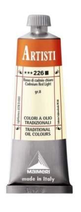 Масляная краска Maimeri Artisti 226 кадмий красный светлый 60 мл