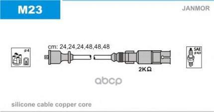 Комплект проводов зажигания JANMOR M23
