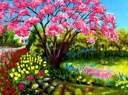 Картина по номерам на картоне Color Kit KS017/Весеннее цветение
