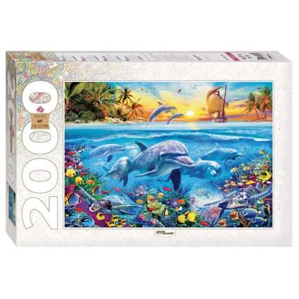 Пазл Art Collection - Дельфины, 2000 элементов