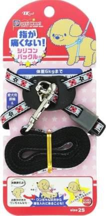 Набор шлейка и поводок Premium Pet Japan для собак (20-40 см, до 6 кг)