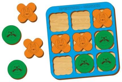 Логическая игра WoodLand Крестики-нолики 2 066102