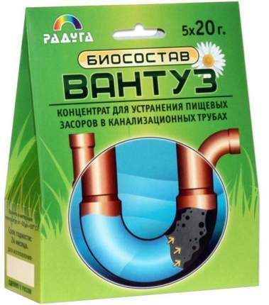 Биосостав Вантуз для устранения пищевых засоров в канализационных трубах 5*20 г