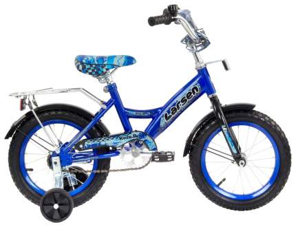 Велосипед Larsen Kids 14 2016 Синий