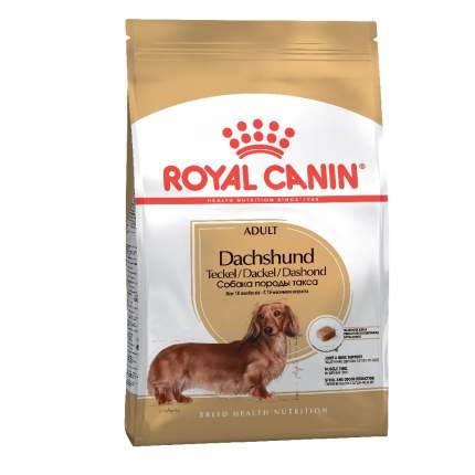 Сухой корм для собак ROYAL CANIN Adult Dachshund, курица, 7.5кг