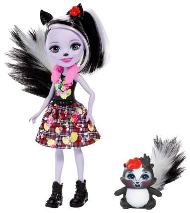 Кукла Enchantimals Mattel с питомцем скунси седж