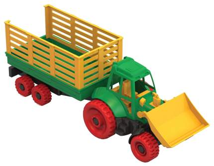 Нордпласт Трактор с грейдером и прицепом Нордпласт Р12796
