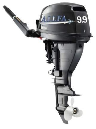 Лодочный мотор Allfa F9.9S четырехтактный