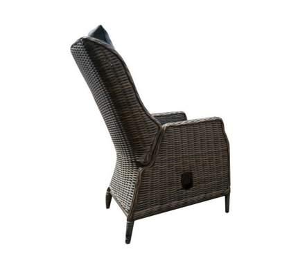 Садовое кресло Besta fiesta Верона BSF_Verona_kreslo brown 64х81х102 см