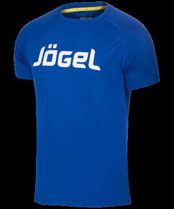 Футболка Jogel JTT-1041-079, синий/белый, XL INT