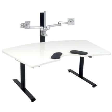 Компьютерный стол Salli черный