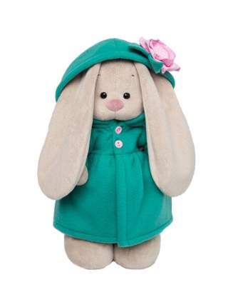 Мягкая игрушка Budi Basa Зайка Ми в изумрудном пальто с розовым цветочком StS-238