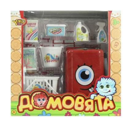 Стиральная машинка игрушечная Yako Домовята M7591-2