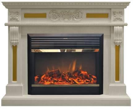 Электрокамин (очаг+портал) Real-Flame Corsica 26 WT с очагом Moonblaze lux Bl/Br