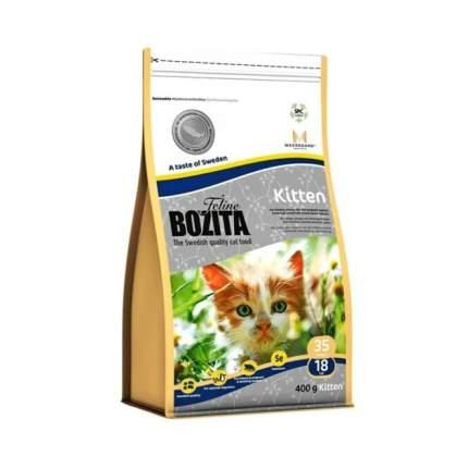Сухой корм для котят, беременных и кормящих кошек BOZITA Feline Kitten, лосось, 0,4кг