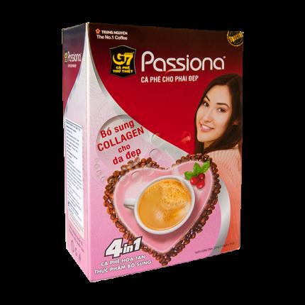 Кофе вьетнамский растворимый G7 пассиона 4в1