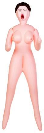 Надувная секс-кукла ToyFa Dolls-X Passion №2 с тремя любовными отверстиями