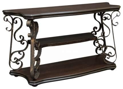 Консоль мебельная МЕБЕЛИК Лючия 2301 Темно-коричневый