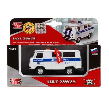 Полицейская Машинка Технопарк UAZ 39625 1:43 Полиция