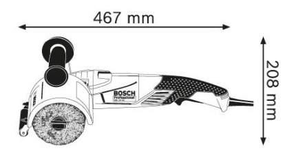 Сетевая щеточная шлифовальная машина Bosch GSI 14 CE AC 06018B1001